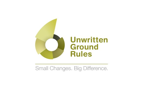 Unwritten Ground Rules Logo for Toyota Employee Branding