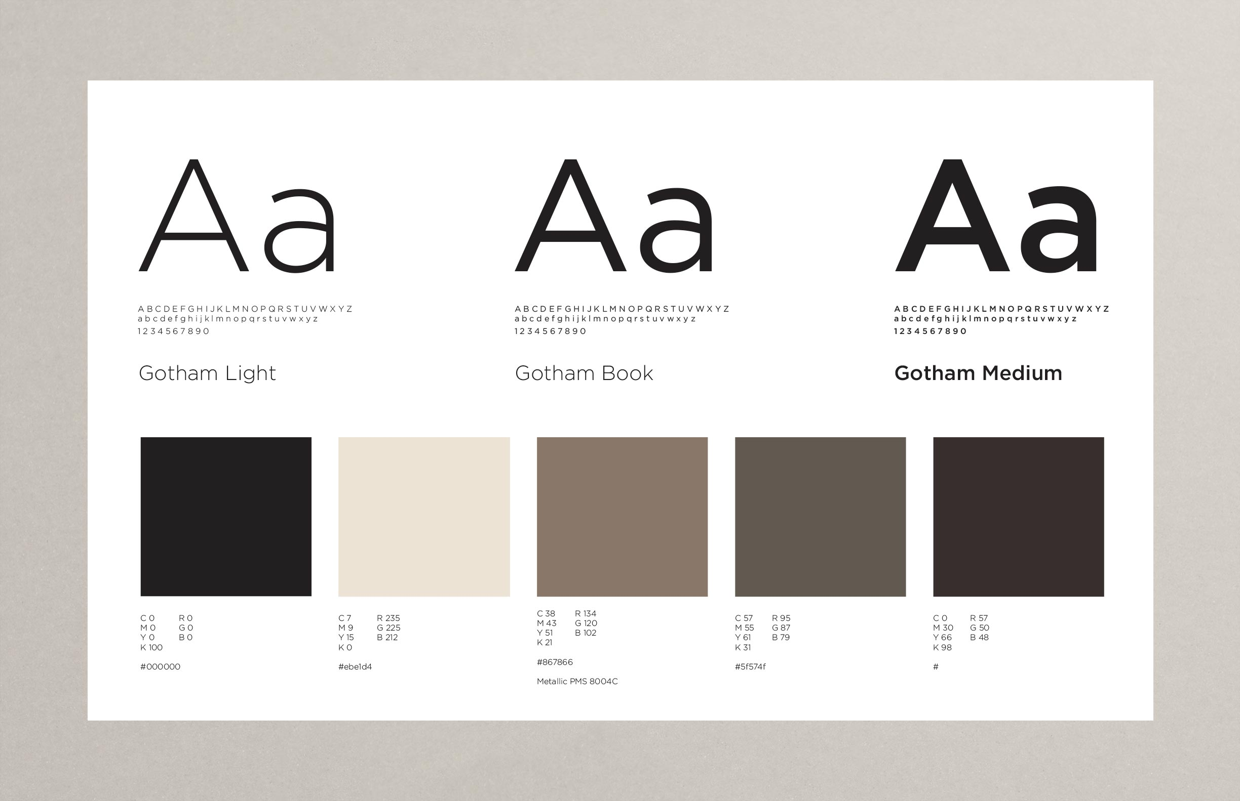 TFE Hotels Brand Guidelines