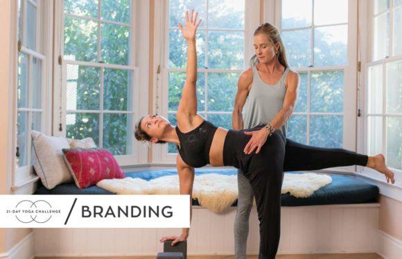 21-Day Yoga Challenge Branding